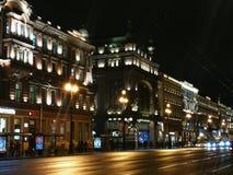 Свет Санкт-Петербурга стоковая фотография rf