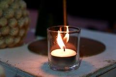 Свет свечи стоковое изображение rf