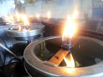 Свет свечи Стоковое Фото