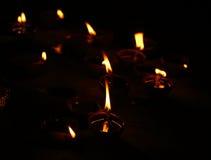 Свет свечи Стоковые Изображения RF