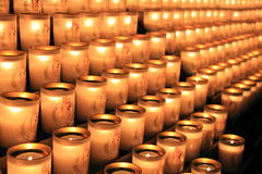 Свет свечи Стоковая Фотография
