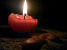 Свет свечи стоковые фото