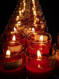 Свет свечи Стоковое Изображение