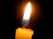 свет свечки Стоковое фото RF