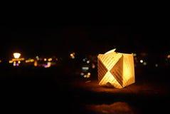 свет свечки cup3 Стоковое Изображение RF