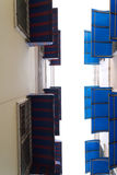 Свет сени - синь Стоковое Изображение RF