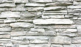 Свет - серая каменная стена Стоковые Изображения