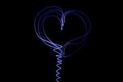 свет сердца Стоковая Фотография
