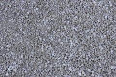 Свет - серый гравий & x28; Pebble& x29; текстура пола, взгляд сверху стоковое изображение