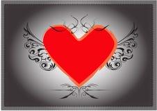 свет сердца - розовый стальной тип Стоковое Фото