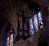 свет собора падая готский Стоковая Фотография RF