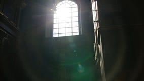 Свет Солнця и здания, природа, сток-видео