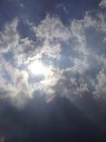 Свет 3 солнца Стоковая Фотография RF