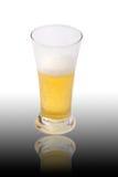 свет стекла пива стоковое фото