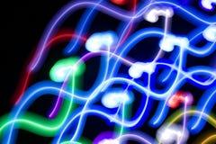 свет танцульки Стоковая Фотография