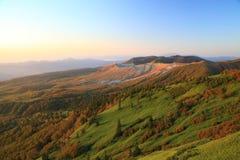 Свет утра в горе Стоковые Фотографии RF