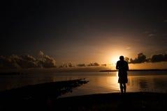 Свет утра заливом Стоковое Фото