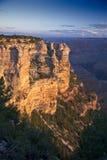 Свет утра на грандиозном каньоне стоковое изображение rf
