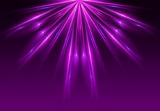 Свет - фиолетовый цвет предпосылки Стоковое Изображение RF