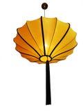 свет фонарика потолка - желтый цвет стоковое изображение