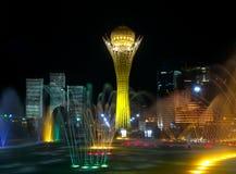 свет фонтана Стоковые Фото