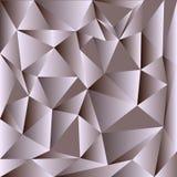 Свет - фон серого вектора сияющий триангулярный Красочная иллюстрация в абстрактном стиле с треугольниками Триангулярная картина  иллюстрация штока