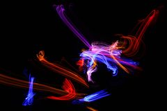 Свет цвета Стоковые Изображения