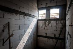 Свет через стену стоковые изображения rf