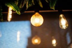 свет шарика раскаленный добела стоковое фото