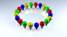 свет шариков Стоковые Фото