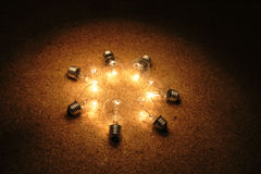 свет шариков стоковое фото rf