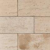 Светлые бетонные плиты подобные к песчанику Стоковое Фото