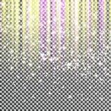 Светлые вертикальные нашивки на предпосылке Искры световых лучей также вектор иллюстрации притяжки corel Стоковое Изображение RF