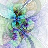 Светлые красочные цветок или бабочка Стоковое фото RF
