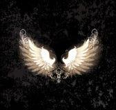 Светлые крыла иллюстрация вектора