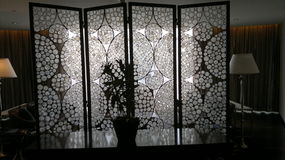 светлые тени Стоковое Фото