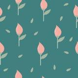 Светлые тюльпаны предпосылки Стоковая Фотография