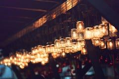 Светлые украшения Стоковые Фотографии RF