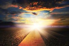 Светлый бульвар стоковое фото