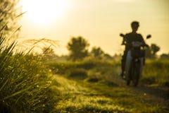 светлый восход солнца Стоковые Изображения