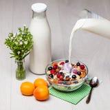 Светлый завтрак Стоковое фото RF
