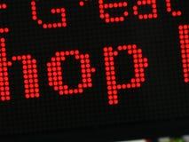 Светлый знак массива Стоковая Фотография RF