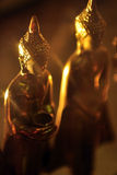 Светлый золотой Будда Стоковое Изображение