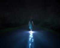 Светлый идти Стоковые Фото