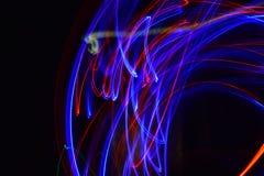Светлый красный цвет и синь искусства Стоковые Фото