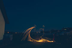 Светлый крася Феникс Стоковая Фотография RF