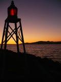 Светлый маяк Стоковые Фото