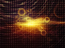 светлый поток Стоковая Фотография RF