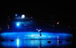 Светлый фестиваль в Генте стоковое фото rf