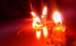 Свет Candal в низкой окружающей среде Стоковая Фотография RF